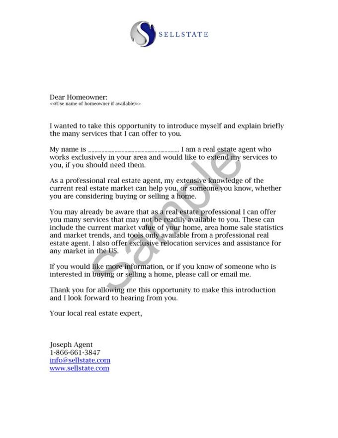 sample real estate introduction letter to friends textpoems org