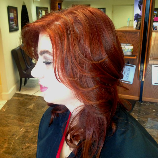 5c And 4rr And 7cc In Redken Chromatics Hair Pinterest