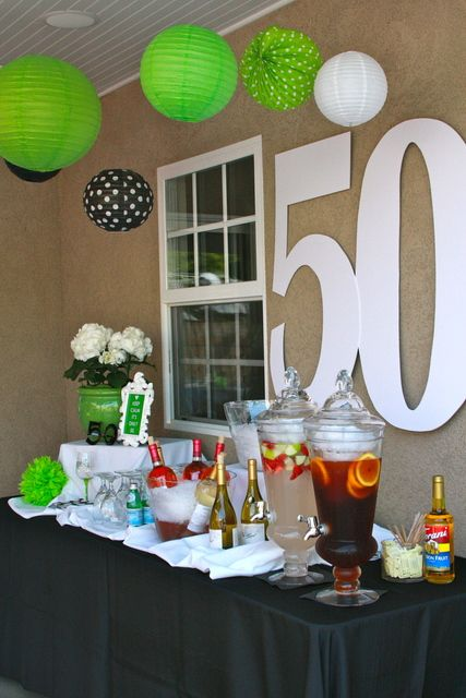50TH Birthday Party Ideas | Photo 5 of 10 | Catch My Party