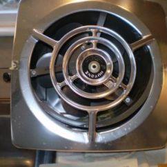Nutone Kitchen Exhaust Fans Wall Mounted Utensil Holder Vintage Fan - Mint In Box Today's Ebay ...