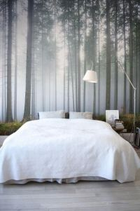 carta da parati bosco camera da letto | blog | homerefresh ...