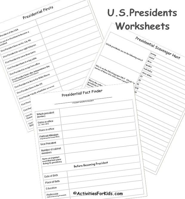 1000+ images about President's Day Activities for Kids on