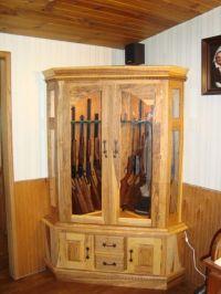 Best 25+ Gun cabinets ideas on Pinterest | Wood gun ...