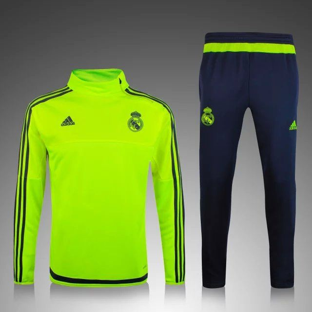 real madrid champions league ghost yellow men tracksuit slim fit