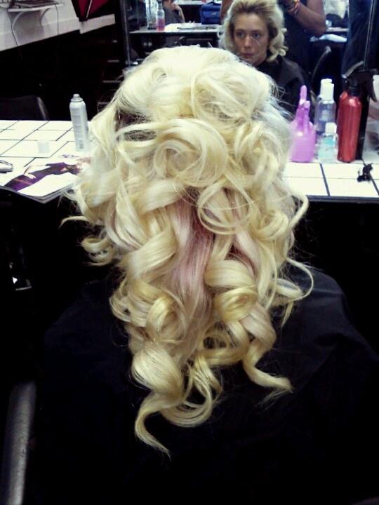 Big barrel curls  Hair Kulture  Pinterest  Big barrel curls Barrel curls and Curls