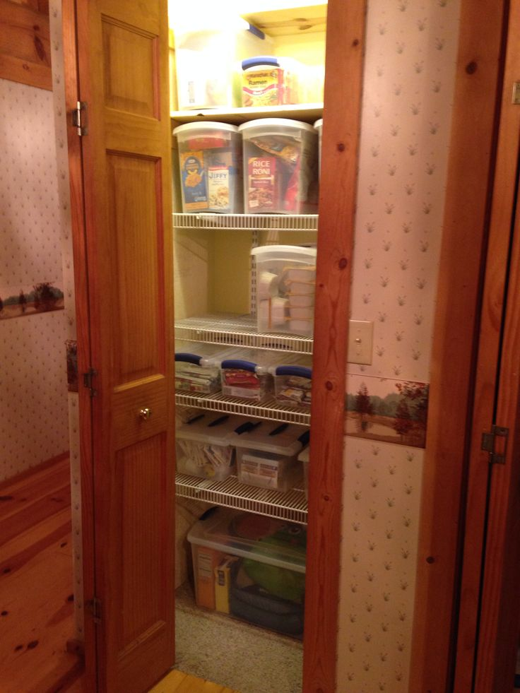Mouse problem Organize your pantry and mouse proof at the
