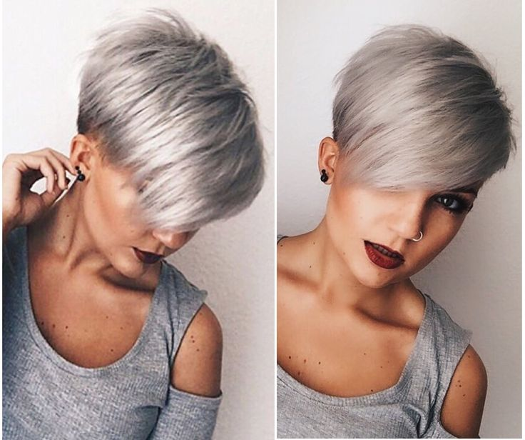 25 best ideas about Short asymmetrical hairstyles on