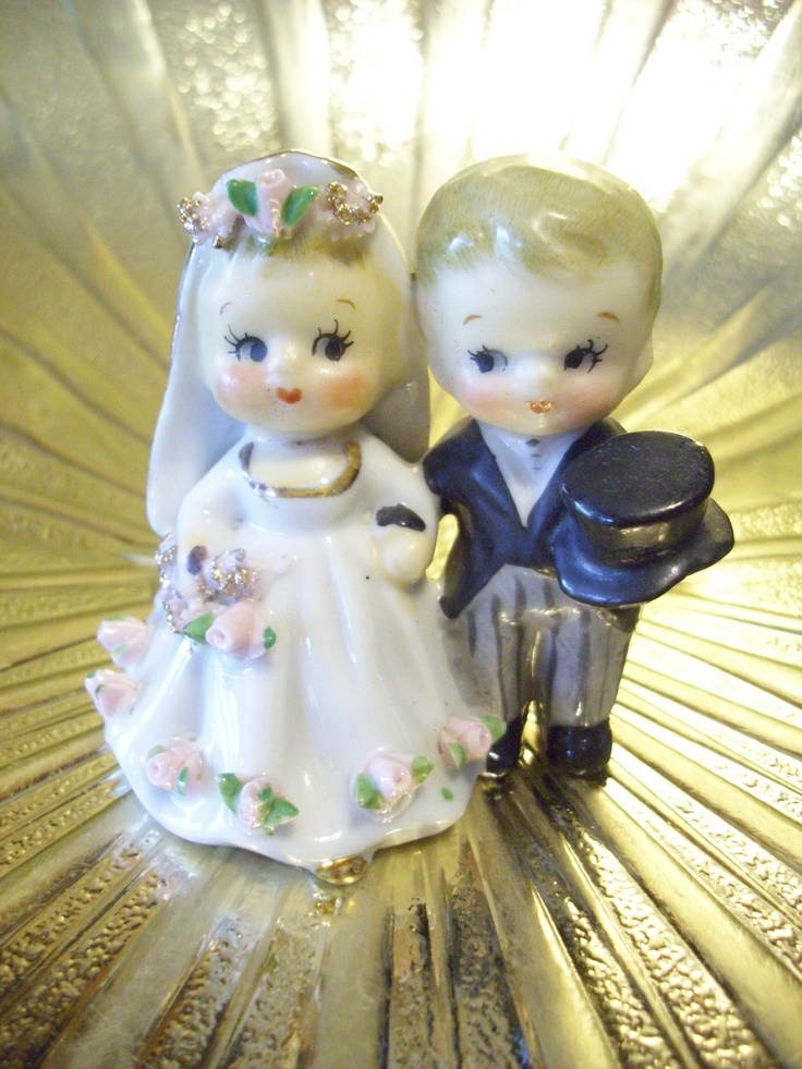 1000 Images About Vintage Wedding Figurines On Pinterest