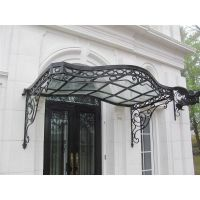 1000+ images about wrought iron canopy for doors and ...