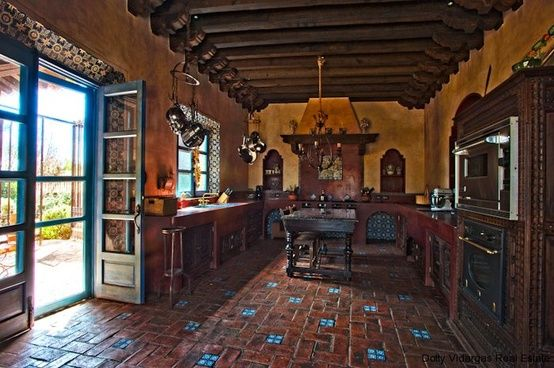 spanish style kitchen tiles floor ideas Spanish Kitchen. love tile floor | Kitchen ideas