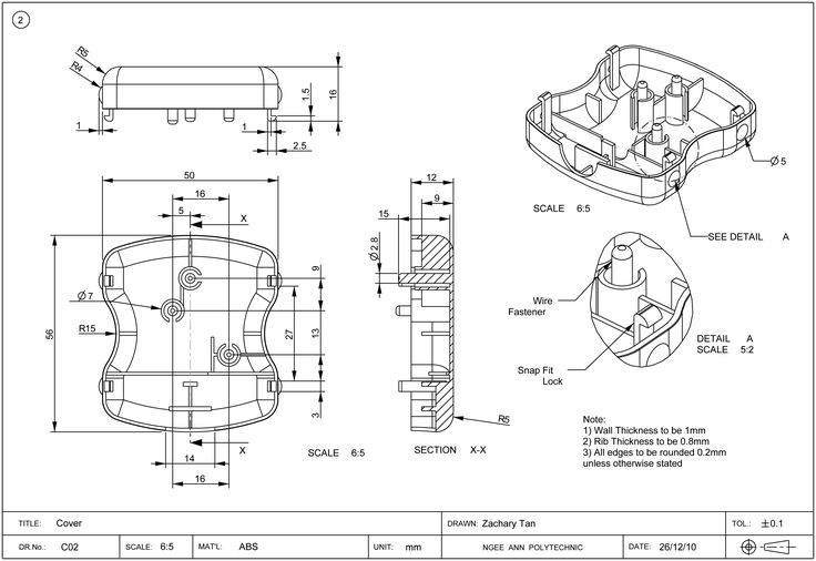 Interchangeable manufacturing and technical drawings