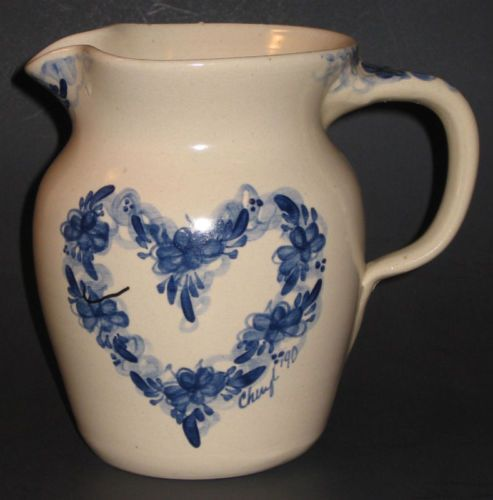 marshalls kitchen craigslist island e p pottery marshall texas hand thrown pitcher ♥ heart ...