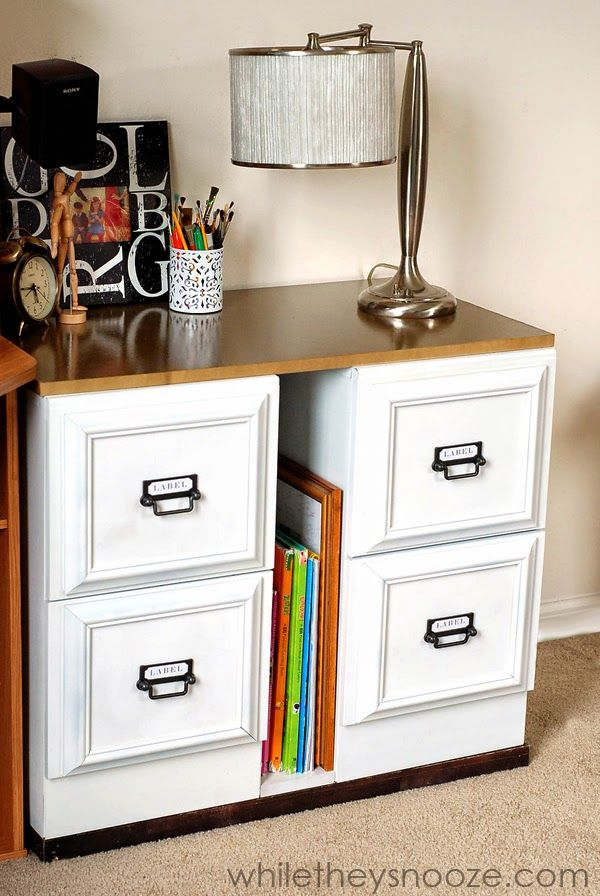 25 best ideas about Metal desk makeover on Pinterest  Filing cabinet desk File cabinet desk