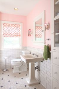 25+ best ideas about Pink bathrooms on Pinterest   Pink ...