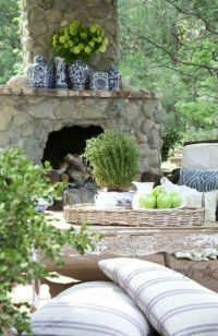 Best 25+ River Rock Fireplaces ideas on Pinterest