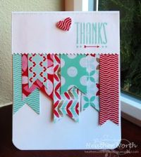 Creative Blessings- Thank you card using Stampin' UP! Hip ...