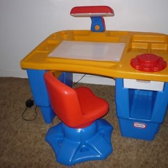 Fisher Price Kitchens Kitchen Table Sets Under 200 Little Tikes Light Up Desk And Chair Set Eeuc | Ebay ...