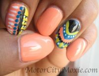 1000+ images about **NAILS WITH AFRICAN PRINTS** on
