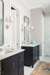 17 Best ideas about Black Bathroom Vanities on Pinterest