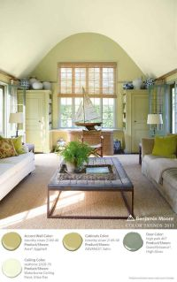 Benjamin Moore Color Trends 2015 - Accent Wall: timothy ...