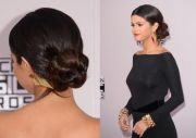 ideas celebrity updo