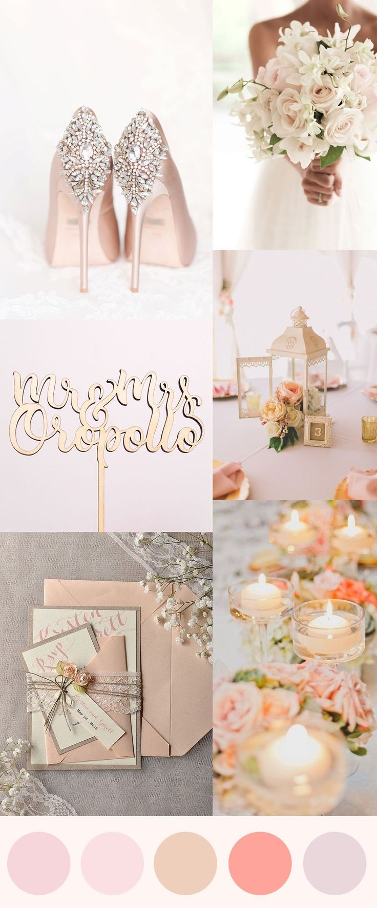 17 Best ideas about Peach Gold Weddings on Pinterest