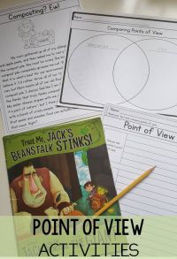 Point of View RL3.6 | Activities, 3rd grade activities and ...