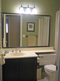 Molded vanity sink with hinged shelf over toilet - Google ...