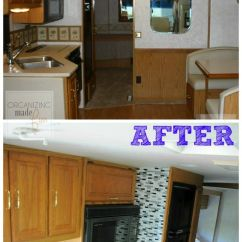 Kitchen Cabinet Spice Rack Cabinets Accessories Before And After Of Rv Update :: Organizingmadefun ...