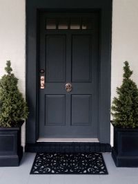 25+ best ideas about Black exterior doors on Pinterest