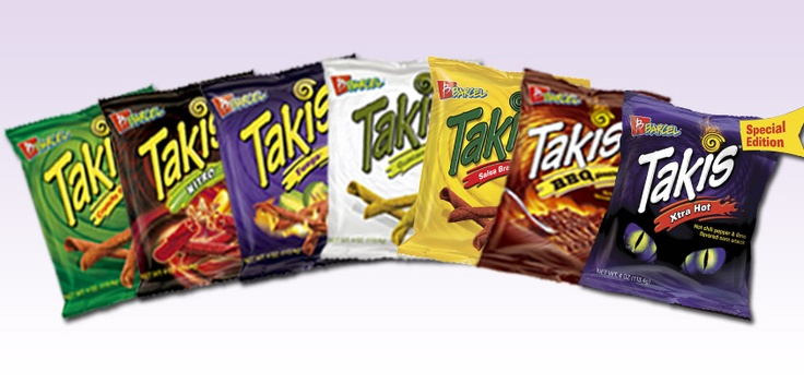Takis Takis Takis 8 Flavors Of The Best Snack Ever