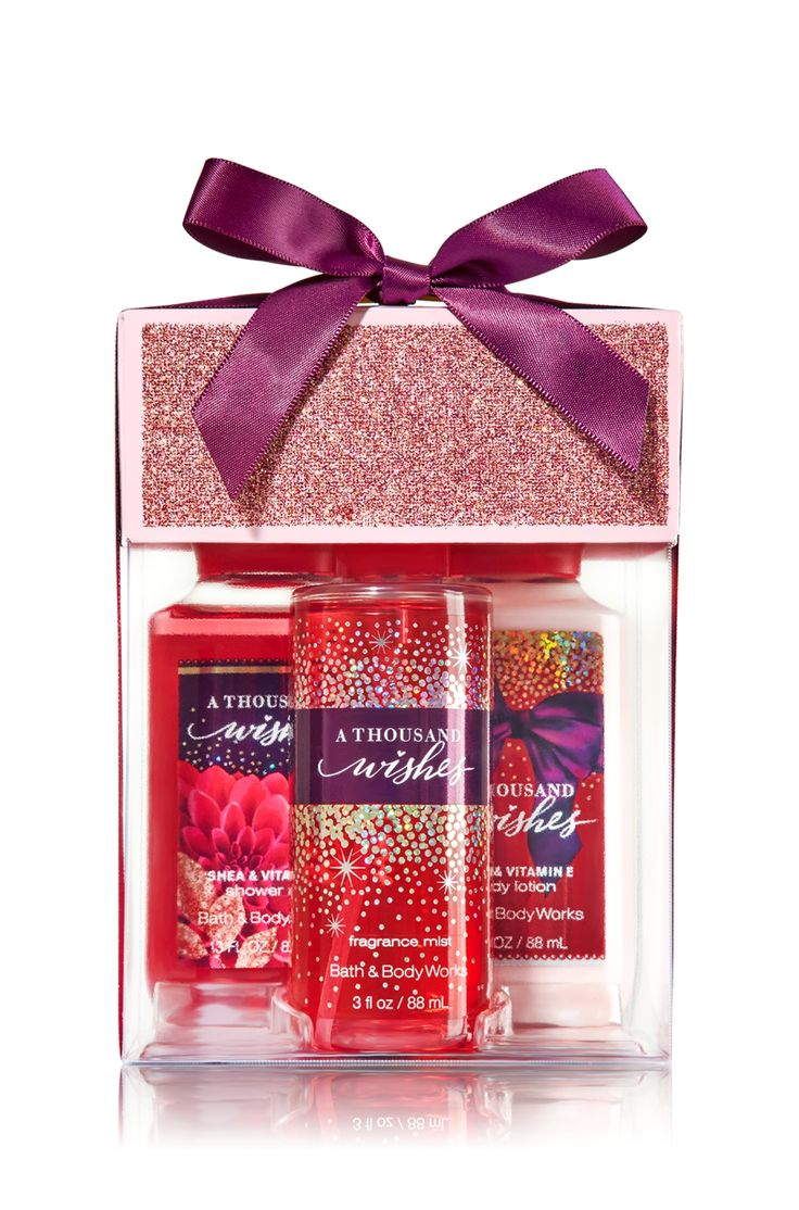 A Thousand Wishes Petite Treats Gift Set Signature Collection Bath Amp Body Works GIFTS