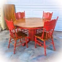 17 Best ideas about Red Distressed Furniture on Pinterest ...