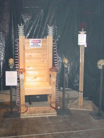 diy leather belt chair chairs and tables rentals 25+ best electric ideas on pinterest | haunted house props, asylum halloween ...
