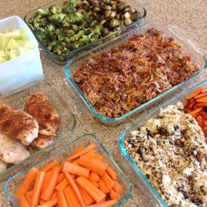 My exact steps for a 2 hour meal prep that will prepare your clean eating food for almost the entire week. Eat clean without