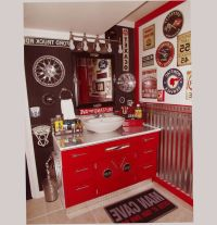 58 best images about gas station themed bathroom ideas on ...