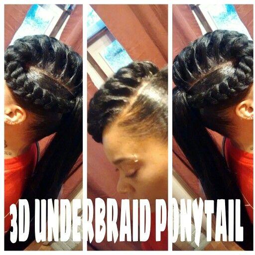 3d Underbraid Goddess Braids Pinterest Kind Of And 3d