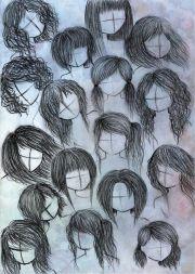 ideas manga hair