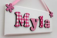 25+ best ideas about Name plaques on Pinterest | Wooden ...