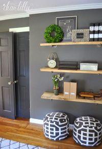 25+ best ideas about Living Room Shelves on Pinterest