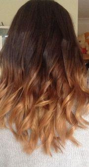 ideas dip dye hair
