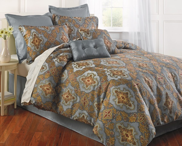 Home Accents Obesque 8 pc Comforter Set  belkcom belk bedding  Under the Covers  Dreaming