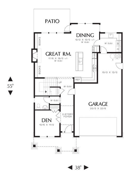 Heated Area: Upper Floor:1435 Sq.Ft. Main Floor:1142 Sq.Ft