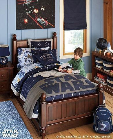paint color for mason's room to match his star wars