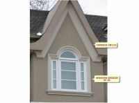44 best images about Stucco trim, arches, stone on ...
