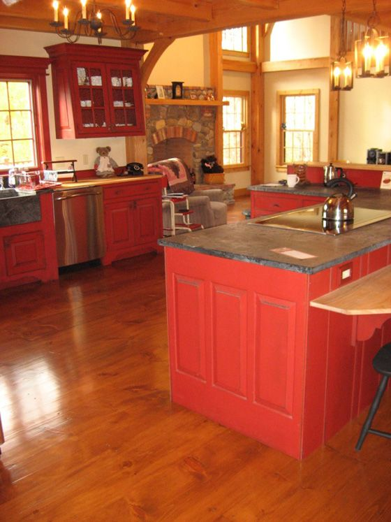 primitive kitchen cabinets thermador 1000+ ideas about pine on pinterest ...