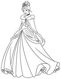 17 migliori idee su Disegni Da Colorare Di Una Principessa ...