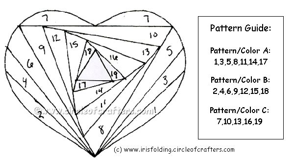 Best 25+ Iris folding pattern ideas on Pinterest