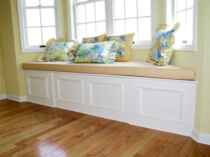 How To Build A Bay Window Storage Bench WoodWorking