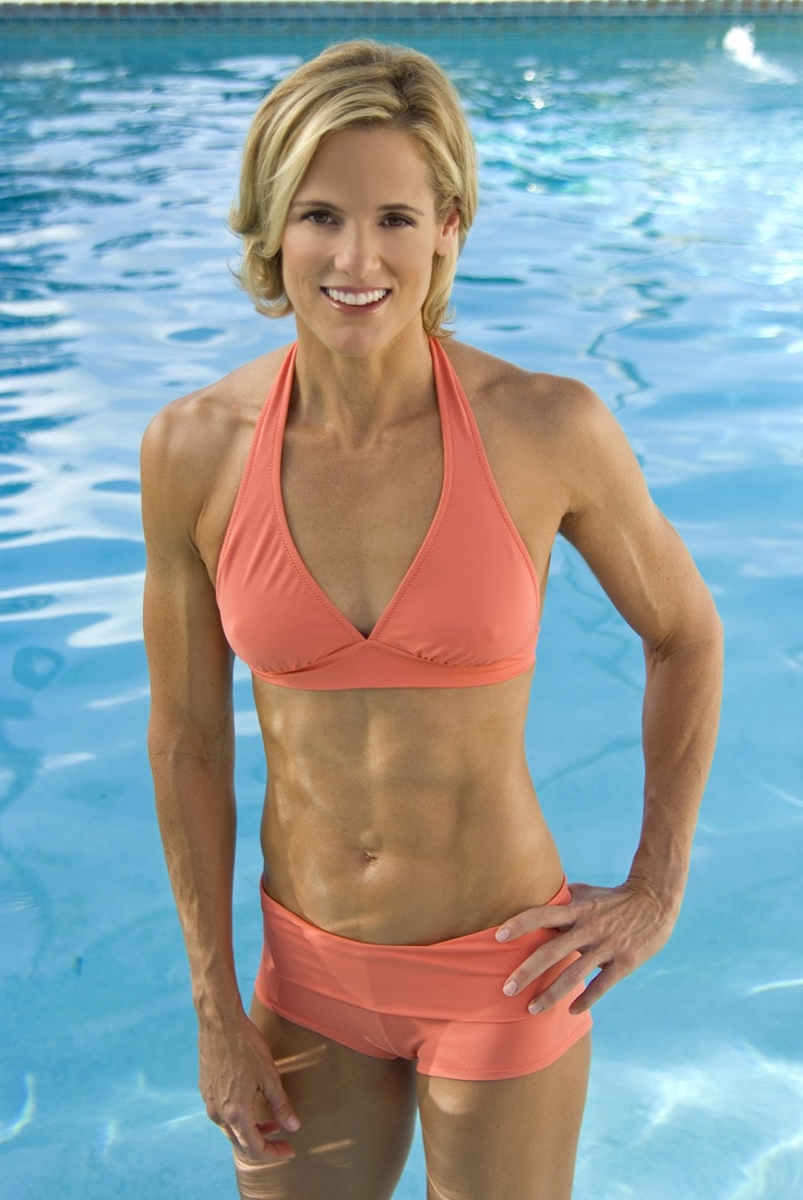 Amazing Abs On 45 Year Old Dara Torres Female Sexy Fit Beautiful Women Over 40 Pinterest